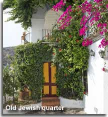Traditional house in the old Jewish quarter