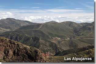 Las Alpujarras of Almeria Spain