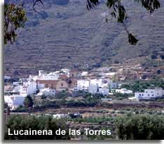 Lucainena de las Torres Spanish mountain village in the Sierra Alhamilla