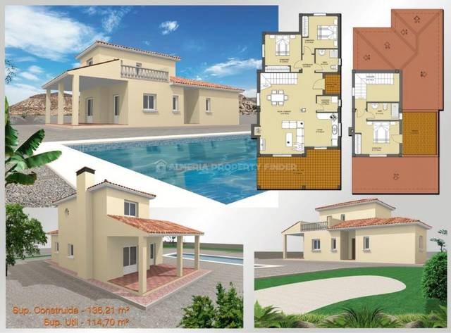 3 Bedroom Villa in Huercal-Overa
