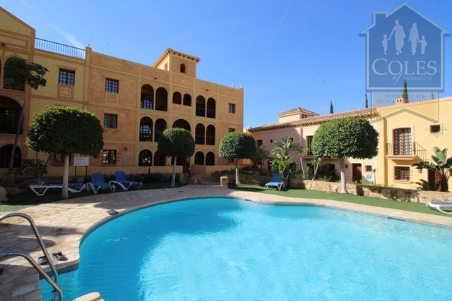 DES2A05: Apartment for Sale in Desert Springs, Almería