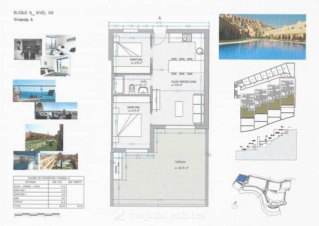 ME 1708: Apartment for Sale in Mojácar, Almería