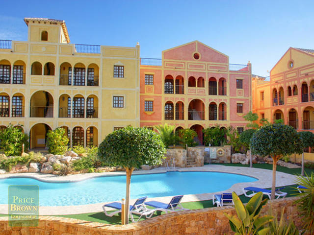 ND1-006: Apartment for Sale in Desert Springs, Almería