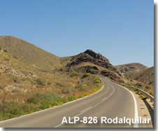 ALP-826 road through the Roadalquilar landscape