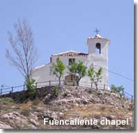 Fuencaliente hill top chapel