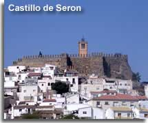 Seron castle in the Filabres mountains of Almeria