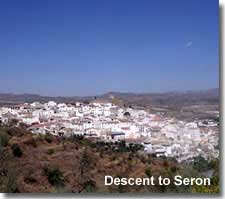 Seron village in the Filabres foothills of Almeria.