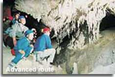Advanced route cave tunnels
