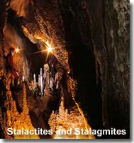 Stalactites and Stalagmites at Cuevas de Sorbas