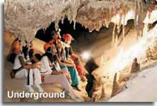 Underground in the Sorbas Caves
