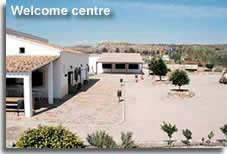 Sorbas caves welcome centre