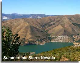 Summertime in the Sierra Nevada Andalucia