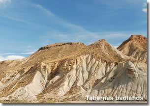 Badlands of Tabernas desert