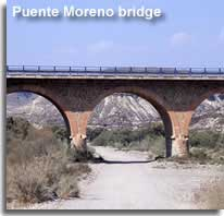 Puente Moreno bridge in the Tabernas Desert