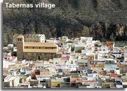 Tabernas village