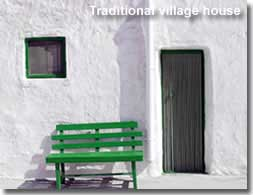 Traditional village house in Almeria