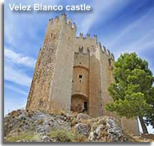 Hilltop castle of Velez Blanco