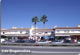 Las Buganvillas strip Vera Playa