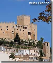 Velez Blanco village and castle