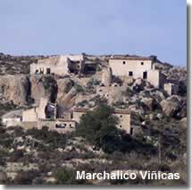 Abandoned village of Marchalico Viñicas in Sorbas