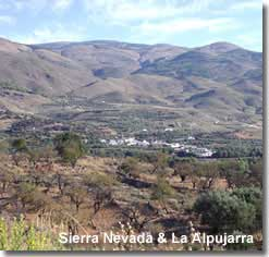 Walking in the Alpujarra and Sierra Nevada in Almeria Spain