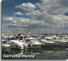 Boats at Garrucha Marina in Almeria