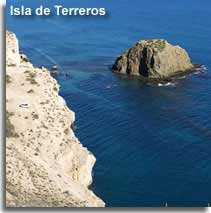 Isla de Terreros at San Juan in Almeria